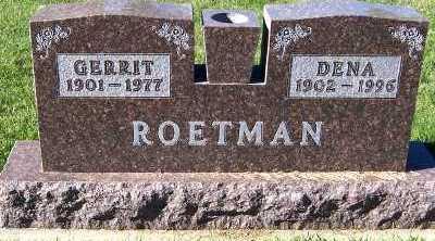 ROETMAN, DENA - Sioux County, Iowa | DENA ROETMAN