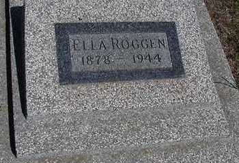 ROGGEN, ELLA - Sioux County, Iowa | ELLA ROGGEN
