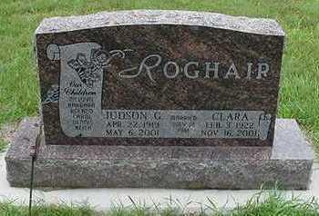 ROGHAIR, CLARA - Sioux County, Iowa | CLARA ROGHAIR