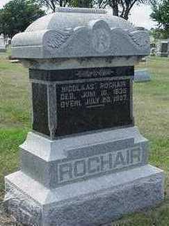 ROGHAIR, NICOLAS - Sioux County, Iowa | NICOLAS ROGHAIR