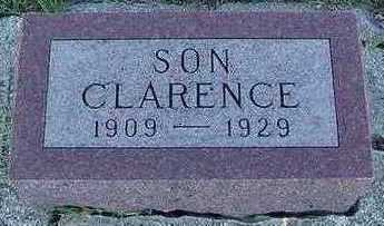 ROOS, CLARENCE (SON) - Sioux County, Iowa | CLARENCE (SON) ROOS