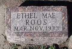 ROOS, ETHEL MAE - Sioux County, Iowa | ETHEL MAE ROOS