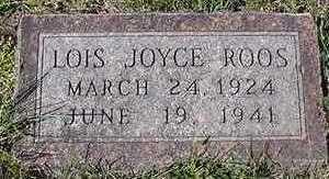 ROOS, LOIS JOYCE - Sioux County, Iowa | LOIS JOYCE ROOS