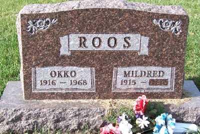 ROOS, OKKO - Sioux County, Iowa | OKKO ROOS