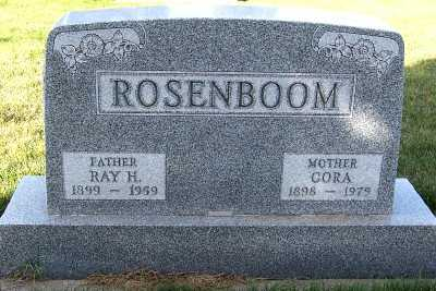 ROSENBOOM, ROY H. - Sioux County, Iowa | ROY H. ROSENBOOM