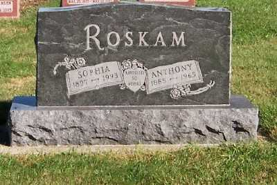 ROSKAM, ANTHONY - Sioux County, Iowa | ANTHONY ROSKAM