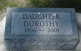 ROUWENHORST, DOROTHY  (DAUGHTER) - Sioux County, Iowa | DOROTHY  (DAUGHTER) ROUWENHORST
