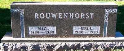 ROUWENHORST, NELL - Sioux County, Iowa   NELL ROUWENHORST