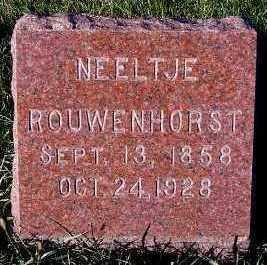 ROUWENHORST, NEELTJE - Sioux County, Iowa | NEELTJE ROUWENHORST