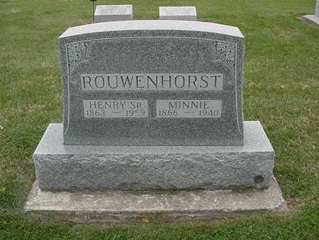ROWENHORST, HENRY SR. 1954 - Sioux County, Iowa | HENRY SR. 1954 ROWENHORST