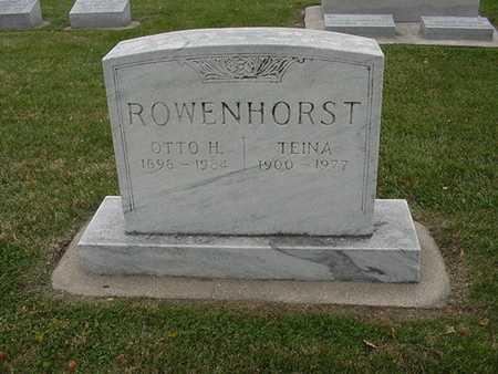ROWENHORST, OTTO - Sioux County, Iowa | OTTO ROWENHORST