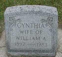 ROZEBOOM, CYNTHIA  (MRS. WILLIAM A.) - Sioux County, Iowa   CYNTHIA  (MRS. WILLIAM A.) ROZEBOOM