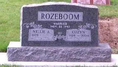 ROZEBOOM, COZYN - Sioux County, Iowa   COZYN ROZEBOOM