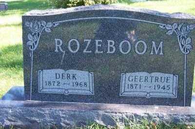 ROZEBOOM, DERK - Sioux County, Iowa | DERK ROZEBOOM