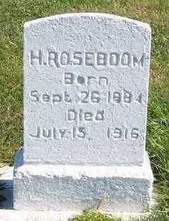 ROZEBOOM, H. - Sioux County, Iowa | H. ROZEBOOM