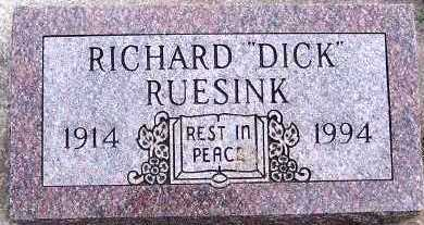 RUESINK, RICHARD (DICK) - Sioux County, Iowa | RICHARD (DICK) RUESINK