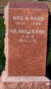KNOL, MRS. J. B. - Sioux County, Iowa | MRS. J. B. KNOL