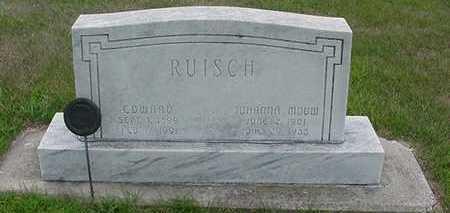 RUISCH, JOHANNA - Sioux County, Iowa | JOHANNA RUISCH