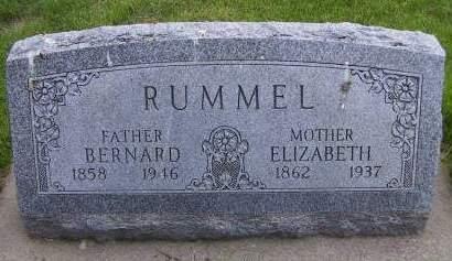 RUMMEL, BERNARD - Sioux County, Iowa   BERNARD RUMMEL