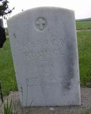 RUMMEL, HARRY W. - Sioux County, Iowa | HARRY W. RUMMEL
