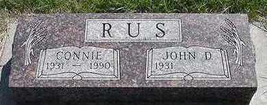 RUS, CONNIE - Sioux County, Iowa | CONNIE RUS