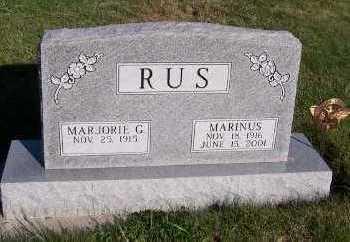 RUS, MARGORIE G. - Sioux County, Iowa | MARGORIE G. RUS