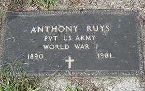 RUYS, ANTHONY - Sioux County, Iowa | ANTHONY RUYS