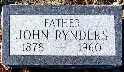 RYNDERS, JOHN - Sioux County, Iowa | JOHN RYNDERS