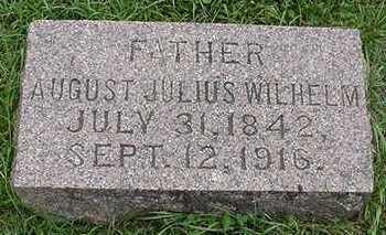 SAEGER, AUGUST JULIUS WILHELM - Sioux County, Iowa | AUGUST JULIUS WILHELM SAEGER