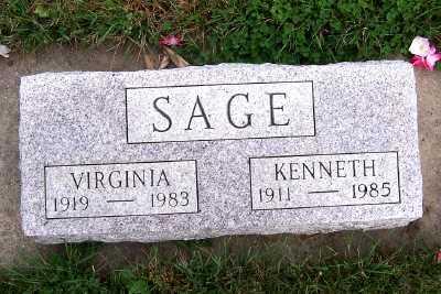 SAGE, VIRGINIA - Sioux County, Iowa | VIRGINIA SAGE