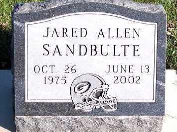 SANDBULTE, JARED ALLEN - Sioux County, Iowa | JARED ALLEN SANDBULTE