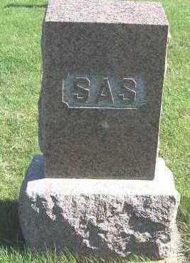 SAS, HEADSTONE - Sioux County, Iowa | HEADSTONE SAS
