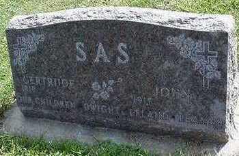 SAS, JOHN - Sioux County, Iowa | JOHN SAS