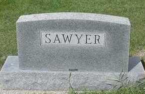 SAWYER, HEADSTONE - Sioux County, Iowa | HEADSTONE SAWYER