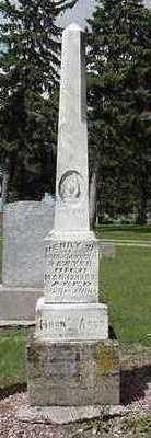 SAWYER, HENRY W. - Sioux County, Iowa   HENRY W. SAWYER