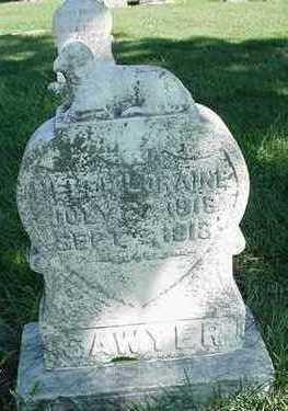 SAWYER, HELEN LORAINE - Sioux County, Iowa   HELEN LORAINE SAWYER