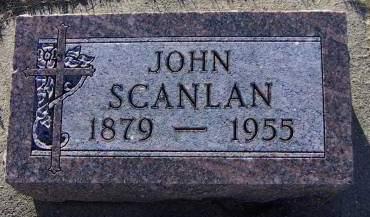 SCANLAN, JOHN - Sioux County, Iowa | JOHN SCANLAN