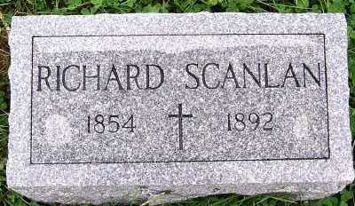 SCANLAN, RICHARD - Sioux County, Iowa   RICHARD SCANLAN