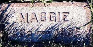SCHAAP, MAGGIE (1865-1932) - Sioux County, Iowa | MAGGIE (1865-1932) SCHAAP