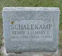 SCHALEKAMP, MARY L. - Sioux County, Iowa | MARY L. SCHALEKAMP