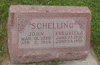 SCHELLING, FREDRIEKA - Sioux County, Iowa | FREDRIEKA SCHELLING