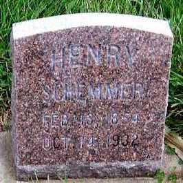 SCHEMMER, HENRY - Sioux County, Iowa   HENRY SCHEMMER