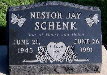 SCHENK, NESTOR JAY - Sioux County, Iowa | NESTOR JAY SCHENK