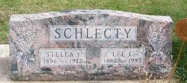SCHLECTY, STELLA I. - Sioux County, Iowa | STELLA I. SCHLECTY
