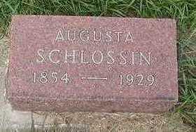 SCHLOSSIN, AUGUSTA - Sioux County, Iowa | AUGUSTA SCHLOSSIN