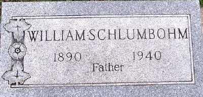 SCHLUMBOHM, WILLIAM - Sioux County, Iowa | WILLIAM SCHLUMBOHM