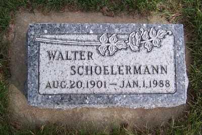 SCHOELERMANN, WALTER - Sioux County, Iowa | WALTER SCHOELERMANN