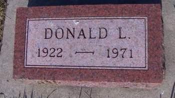 SCHOEN, DONALD L. - Sioux County, Iowa | DONALD L. SCHOEN