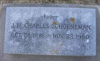 SCHOENEMAN, J. H. CHARLES - Sioux County, Iowa | J. H. CHARLES SCHOENEMAN