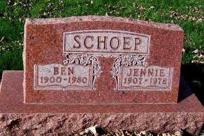 SCHOEP, BEN - Sioux County, Iowa | BEN SCHOEP